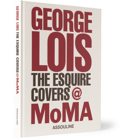 Assouline George Lois: The Esquire Covers @ MoMA Hardcover Book