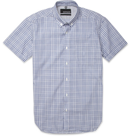 Bespoken Slim-Fit Check Cotton Shirt