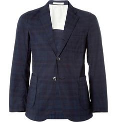 Beams Plus Check Cotton Blazer