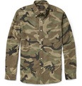 Beams Plus Camouflage-Print Cotton Shirt