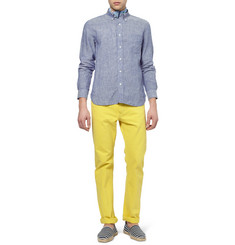 Beams Plus Linen-Chambray Shirt
