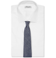 Beams Plus Cotton-Chambray Tie