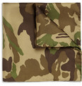 Beams Plus Camouflage-Print Silk Pocket Square
