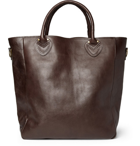 Beams Plus Leather Tote Bag