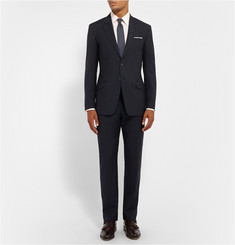 Paul Smith London Navy Byard Wool and Mohair-Blend Travel Suit