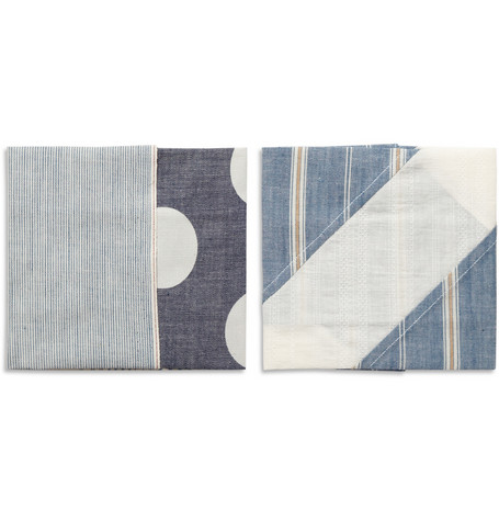 Chief Two-Pack Patterned Pocket Squares