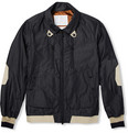 White Mountaineering - Cotton-Blend Chambray Bomber Jacket
