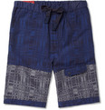 White Mountaineering - Cotton-Blend Jacquard Shorts