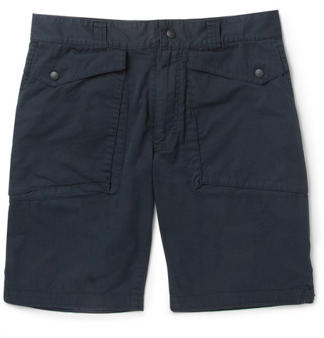White Mountaineering Slim-Fit Cotton Shorts