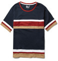 White Mountaineering - Striped Cotton-Jersey T-Shirt