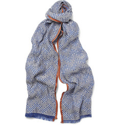 Missoni Patterned Woven Cotton-Blend Scarf