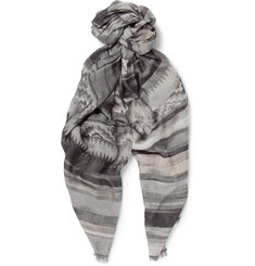 Missoni Patterned Woven Scarf