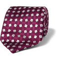Charvet - Patterned Woven-Silk Tie
