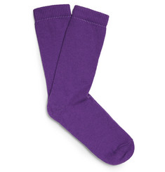 The Elder Statesman Thick Cashmere Socks
