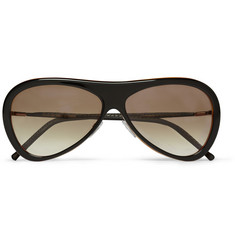 Cutler and Gross Acetate Aviator Sunglasses