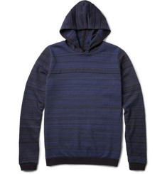 S.N.S. Herning Iteration Jacquard Cotton and Wool-Blend Hooded Sweater