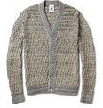 S.N.S. Herning - Emergent Basket-Weave Cotton and Merino Wool-Blend Cardigan