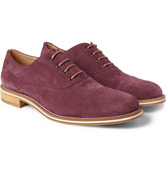 Tod's No_Code Suede Oxford Shoes