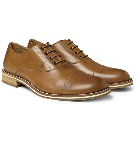 Tod's No_Code Leather Oxford Shoes