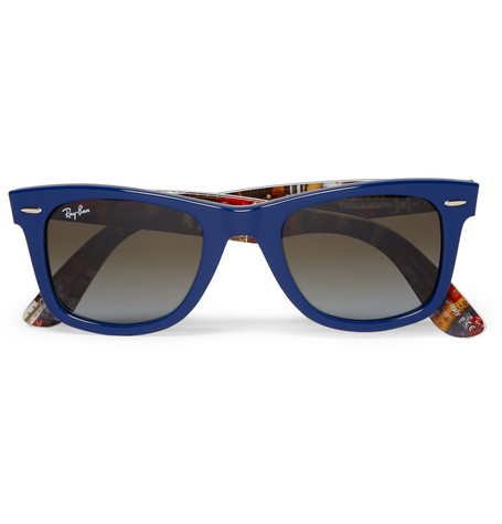 Ray-Ban Print-Lined Original Wayfarer Sunglasses