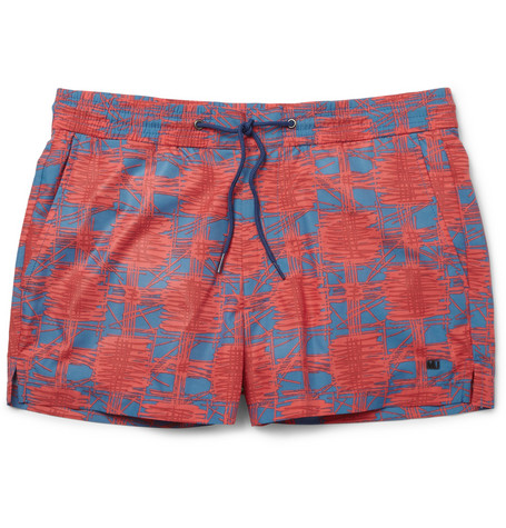 Marc by Marc Jacobs Sam Short-Length Printed Swim Shorts