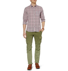 Marc by Marc Jacobs Dustin Lightweight Plaid Cotton-Blend Shirt