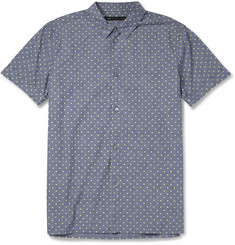 Marc by Marc Jacobs Spot-Print Cotton-Chambray Shirt