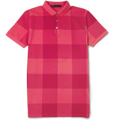 Marc by Marc Jacobs Sean Check Cotton-Pique Polo Shirt