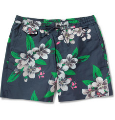 Marc by Marc Jacobs Dempsey Mid-Length Flower-Print Swim Shorts