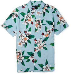 Marc by Marc Jacobs Dempsey Short-Sleeved Flower-Print Shirt