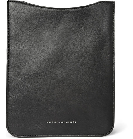 Marc by Marc Jacobs Textured-Leather iPad Sleeve