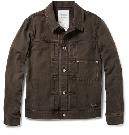 Neighborhood Stockman Faded Denim Jacket