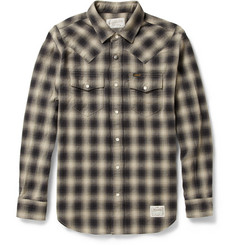 Neighborhood Dead Wood Plaid Cotton Shirt
