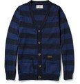 Neighborhood Striped Cotton Cardigan