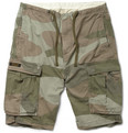 Neighborhood - Camouflage-Print Cotton Cargo Shorts