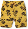 Neighborhood - Iolani Pineapple-Print Cotton Shorts