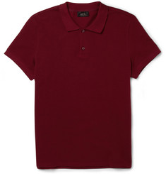 A.P.C. Cotton-Piqué Polo Shirt