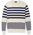 A.P.C. - Striped Cotton Sweater