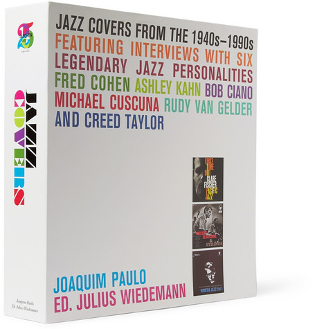 Taschen Jazz Covers Hardcover Books by Joaquin Paulo