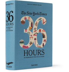 Taschen The New York Times 36 Hours: 150 Weekends in the USA and Canada Cloth-Bound Book