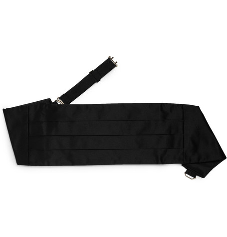 Turnbull & Asser Silk-Satin Cummerbund