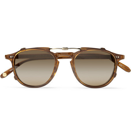Garrett Leight California Optical Hampton Detachable-Front Acetate Glasses