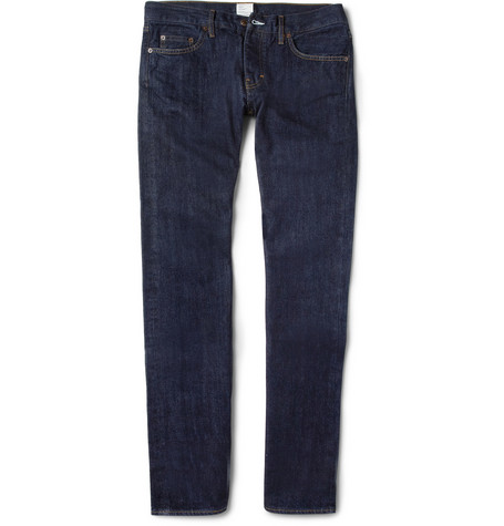 Jean.Machine J.M-1 Slim-Fit Rinsed-Denim Jeans