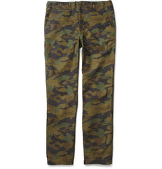 Beams Plus Camouflage-Print Cotton Trousers