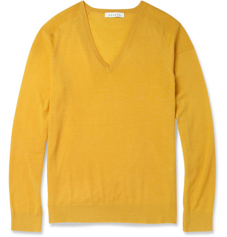 Sandro Fine-Knit Merino Wool Sweater