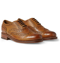 Grenson - Stanley Leather Wingtip Brogues
