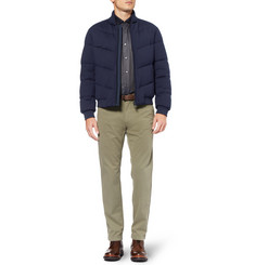 Alfred Dunhill Henry Reversible Down-Filled Bomber Jacket