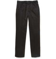 Incotex Incotex Four Season Relaxed-Fit Cotton-Blend Chinos
