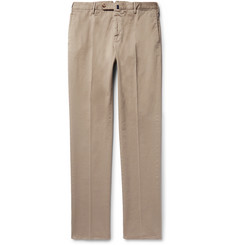 Incotex - Four Season Relaxed-Fit Cotton-Blend Chinos