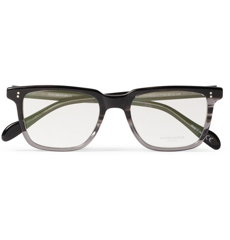 Oliver Peoples NDG Square-Frame Acetate Optical Glasses